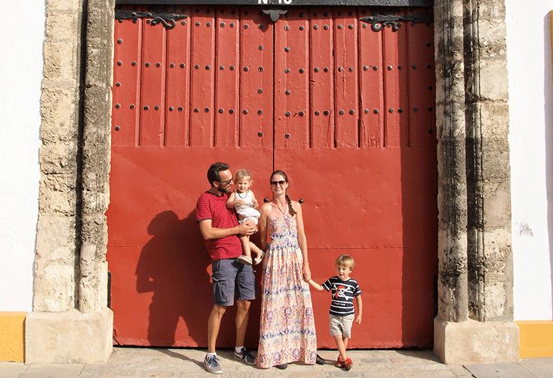 Inspirerend gezin: Nienke, Martijn, Mees (4) en Eline (2,5) reisden 7 weken door Spanje