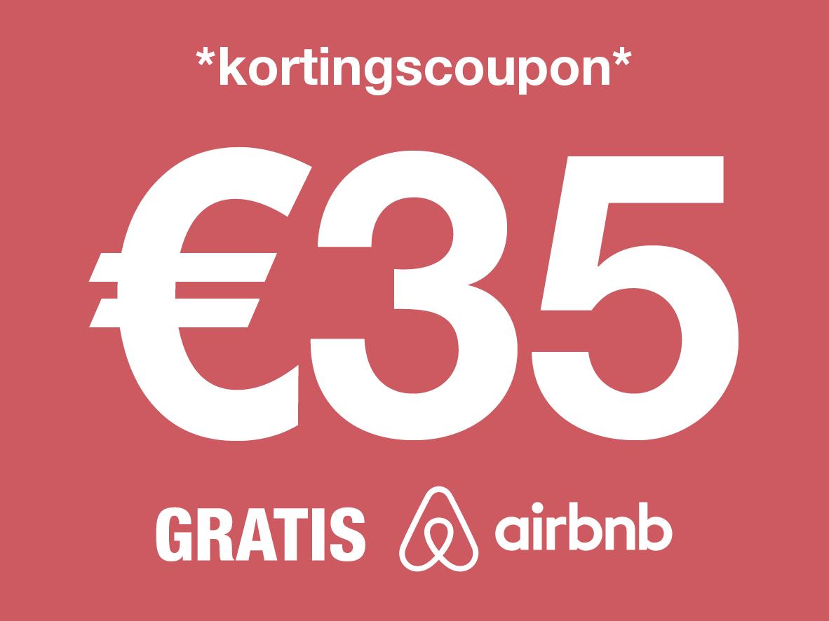 kortingscoupon airbnb