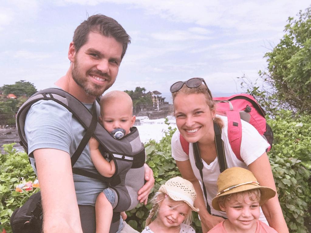 Inspirerend gezin: met 3 kleine kinderen backpacken op Bali