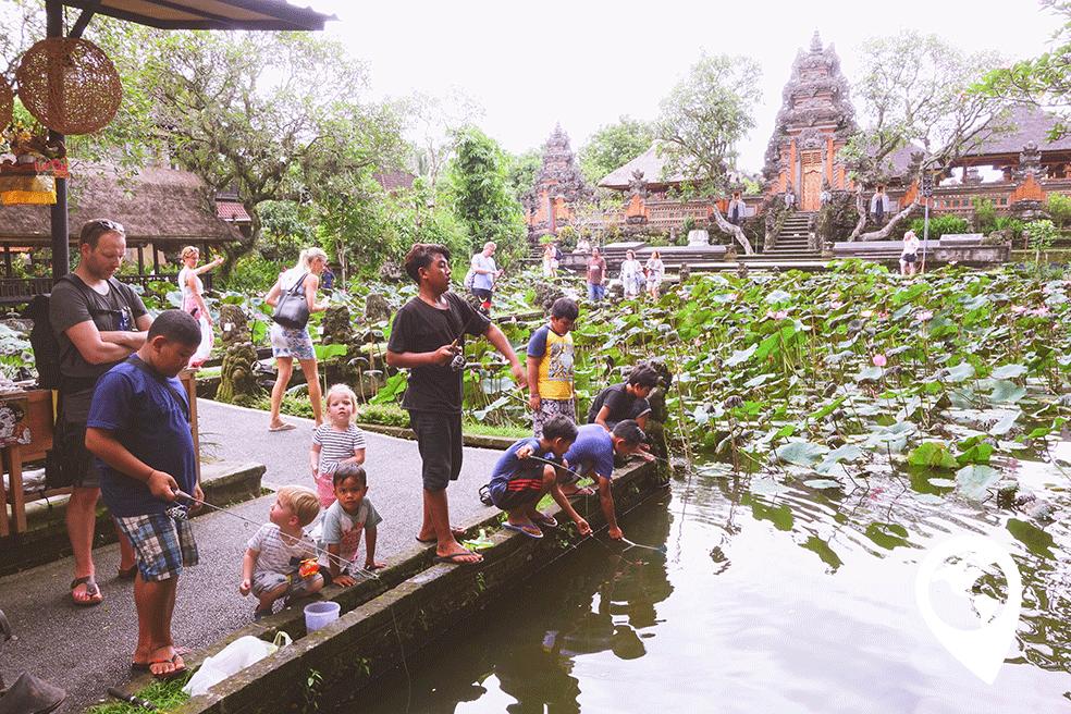 Ubud met kinderen waterpaleis