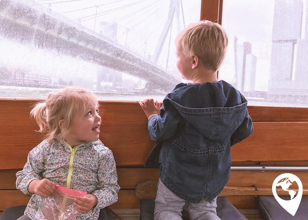 Rotterdam met kinderen watertaxi