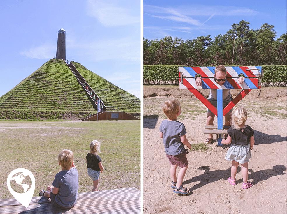 herfstvakantie uitjes met kinderen,Pyramide van Asuterlitz