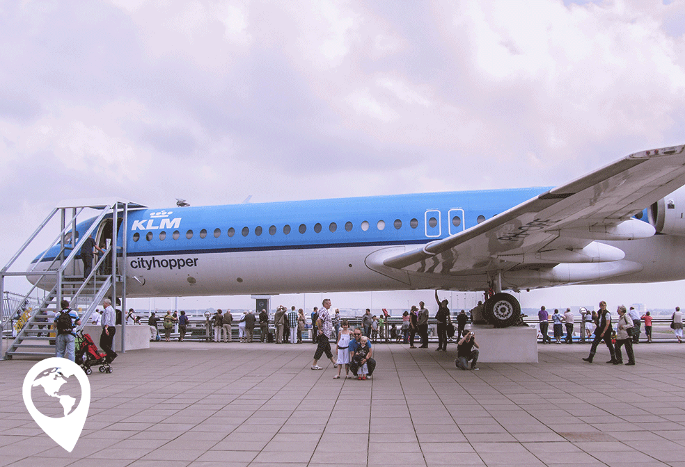 kinderen vliegen transavia