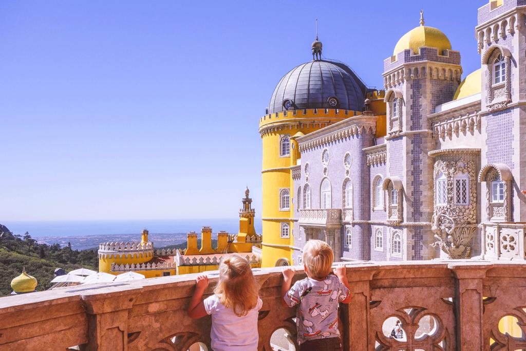 Sintra met kinderen – het sprookje van Portugal
