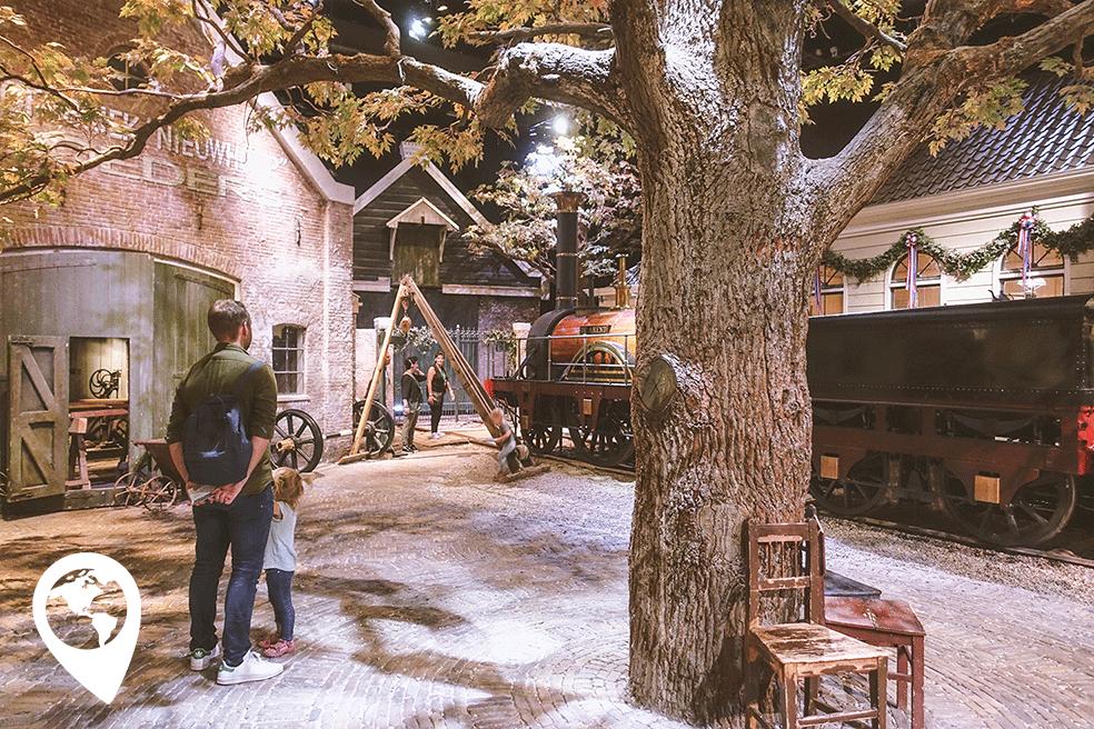 Spoorwegmuseum uitgetest
