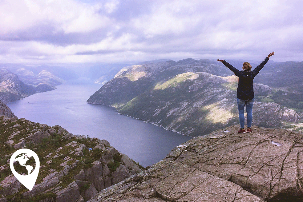 Stavanger preekstoel beklimmen