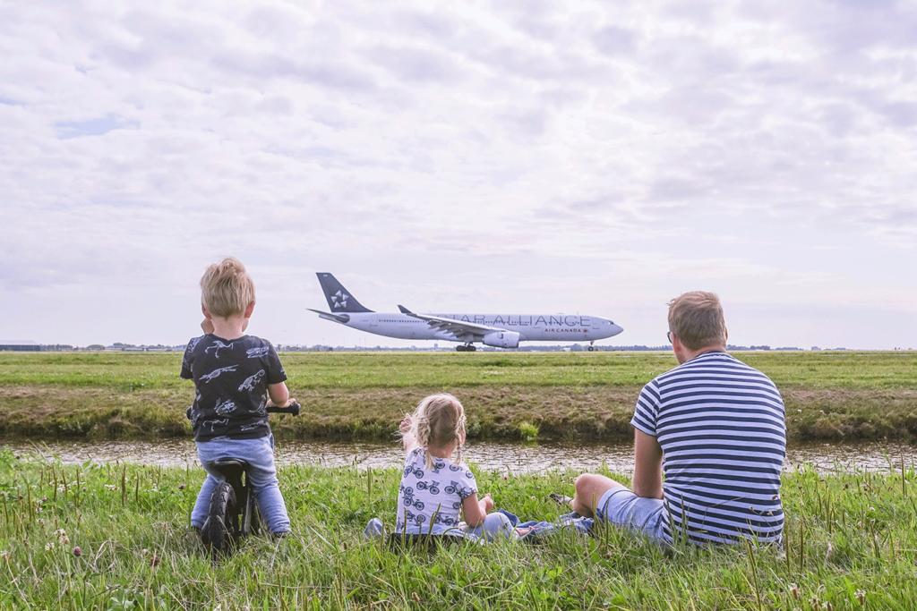 3 x vliegtuigen spotten