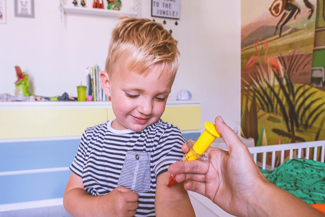 ervaring thuisvaccinatie met kinderen