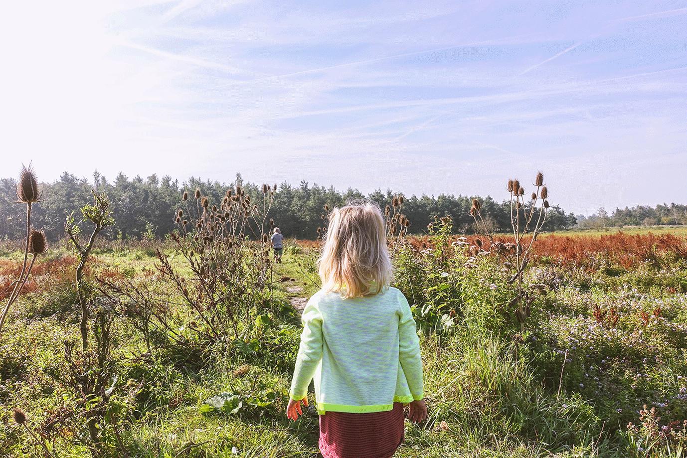 tips voor wandelen met kinderen