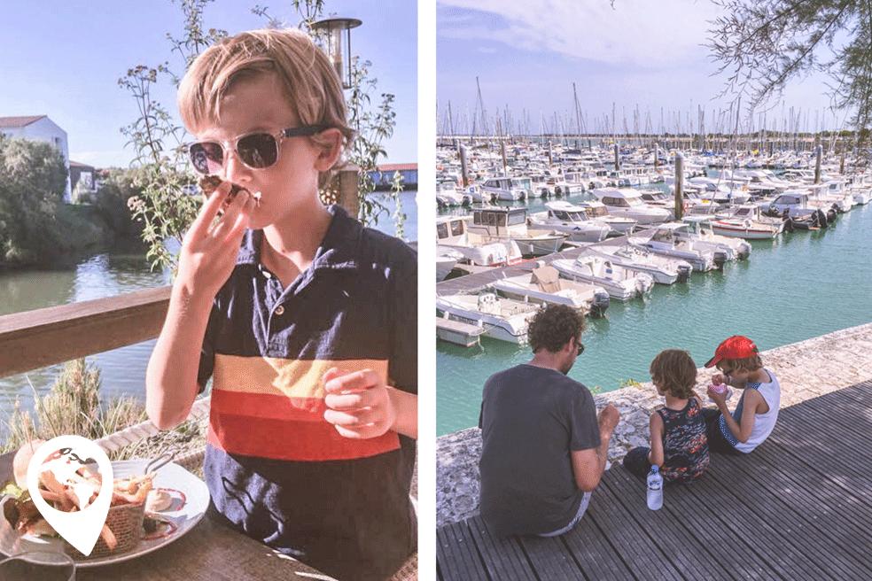 kindvriendelijk Île d'Oléron eten