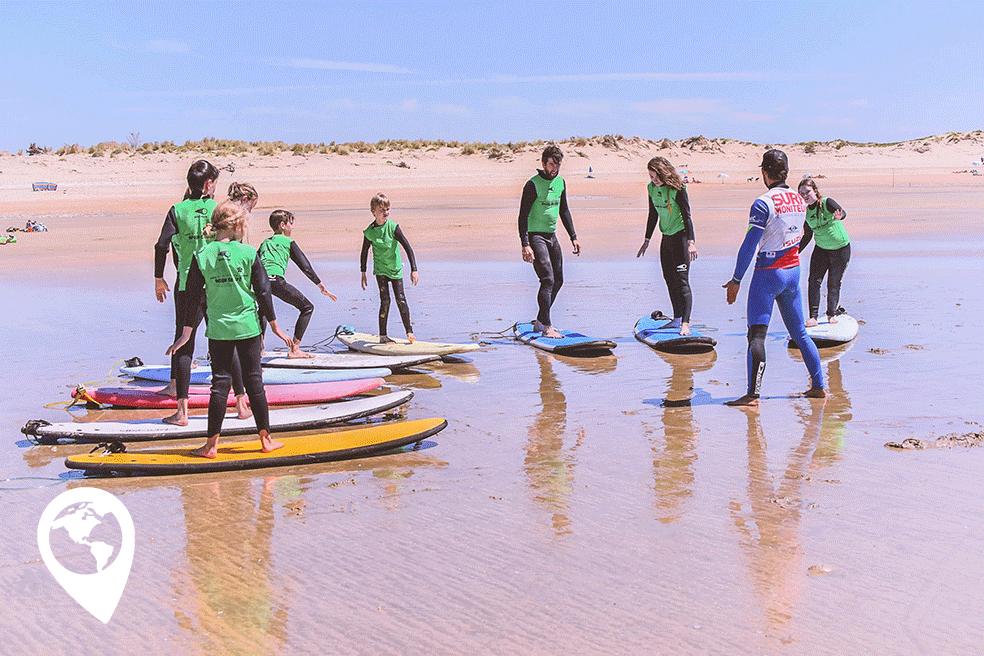 kindvriendelijk Île d'Oléron surfles