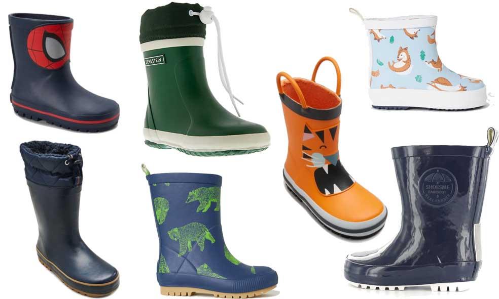 Onze favoriete regenjassen en regenlaarzen voor kinderen
