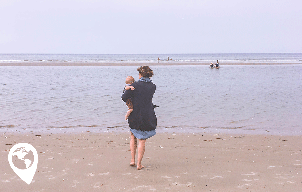 Terschelling met kinderen strand