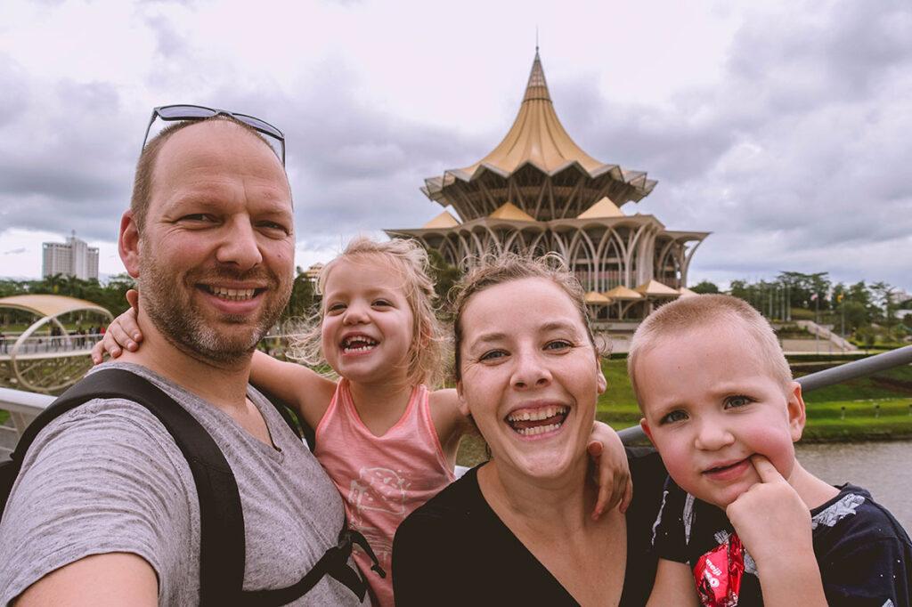 Week 1: Kuching. Over jetlags en orang-oetans