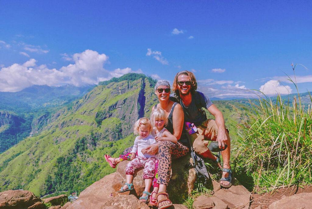 Inspirerend gezin: wereldreis voor onbepaalde tijd