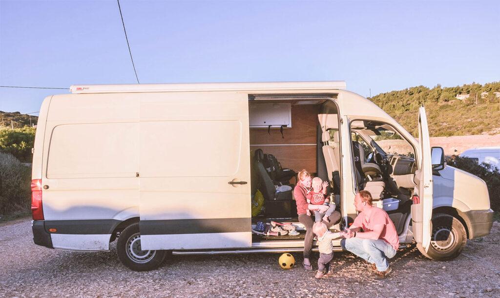 Inspirerend gezin: Als digital nomad gezin de zon achterna reizen