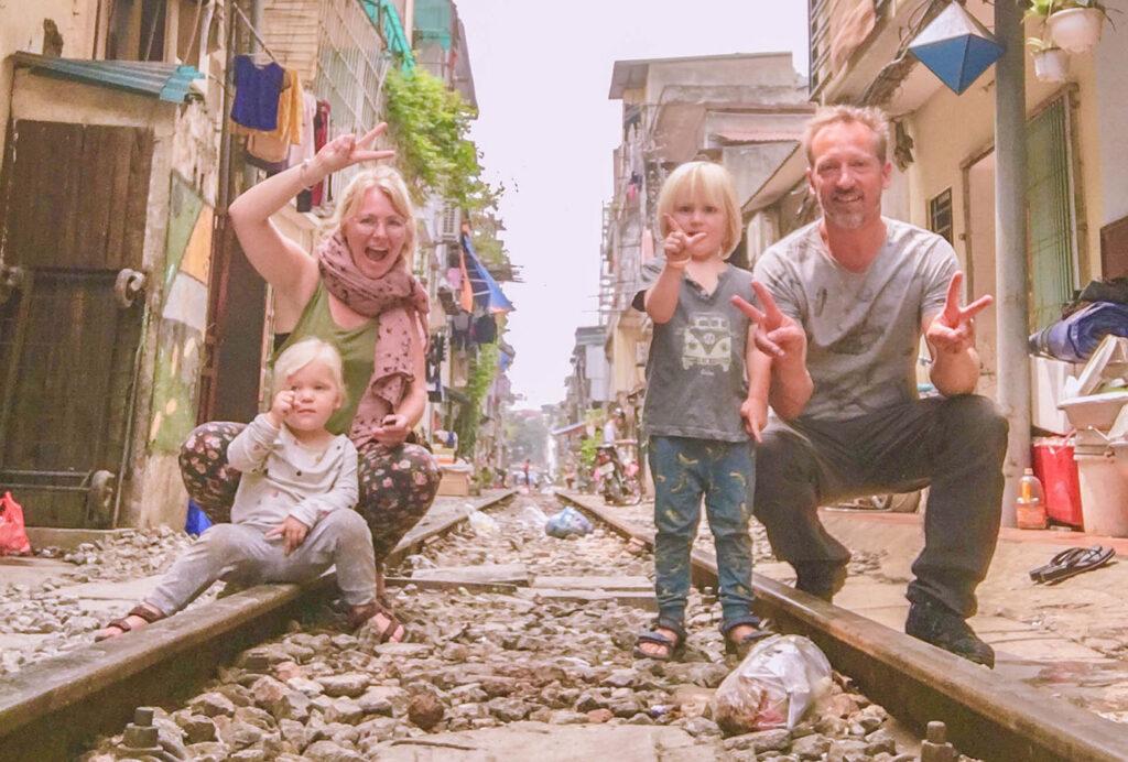 Inspirerend gezin: met peuter en kleuter backpacken door Azië