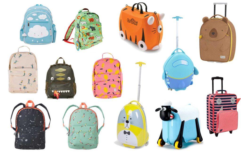 Onze favoriete rugzakken en koffers voor peuters en kleuters