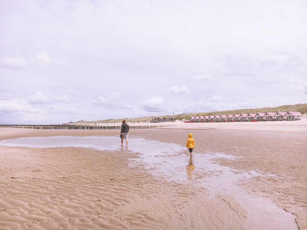 De vakantie van Kim: strandhuisje op het strand van Domburg