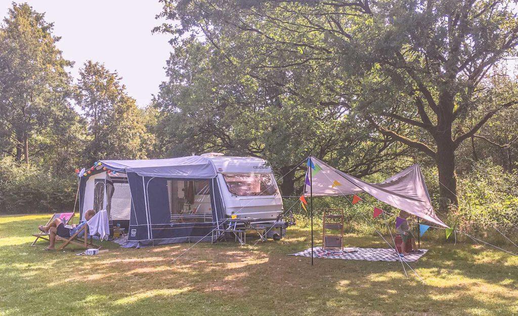Handleiding voor de Happy camper