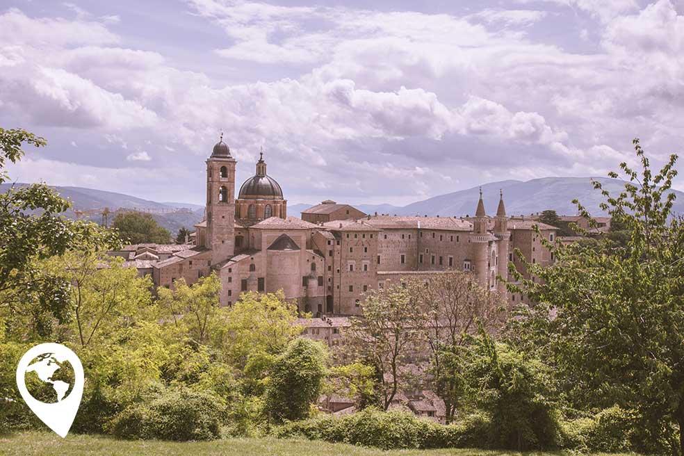 Urbino-de-marken-italie