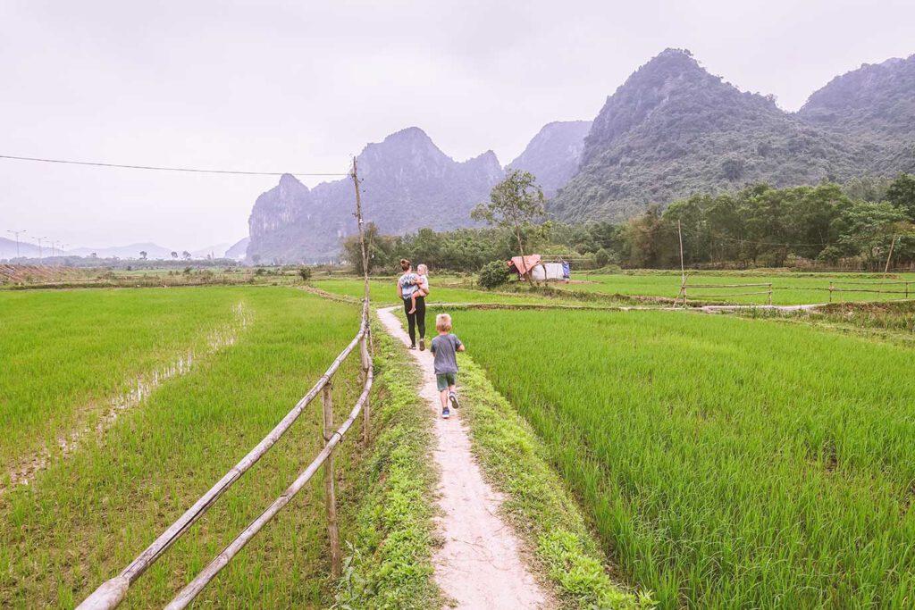 Wat kost een gezinsvakantie Vietnam?