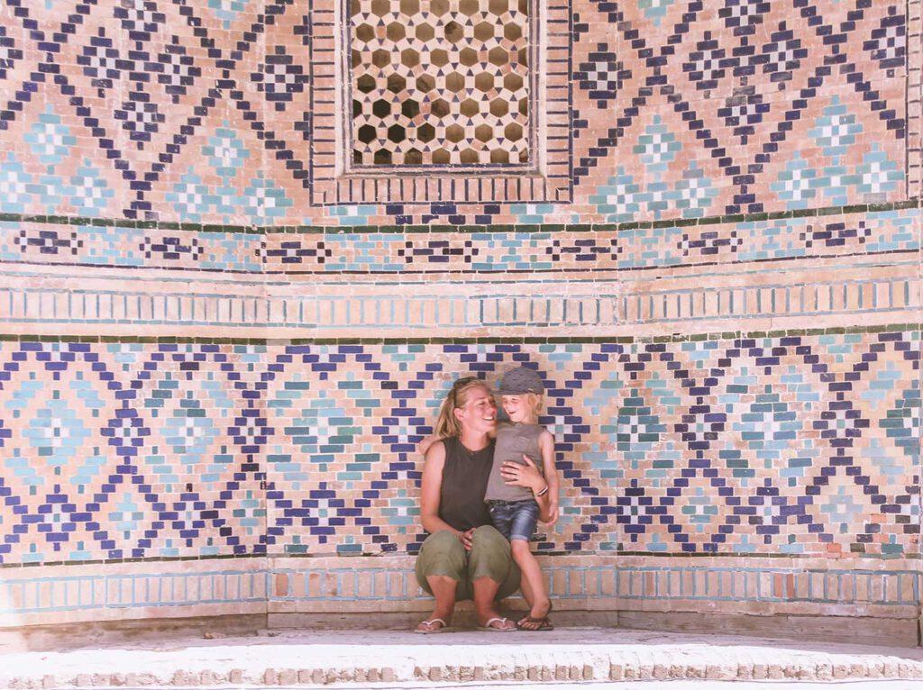 Inspirerend gezin: overland naar centraal Azië met een kleuter