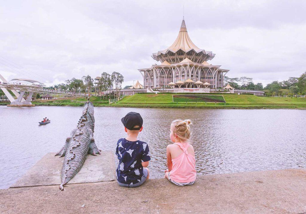 Kuching (Maleisië) met kinderen in 72 uur