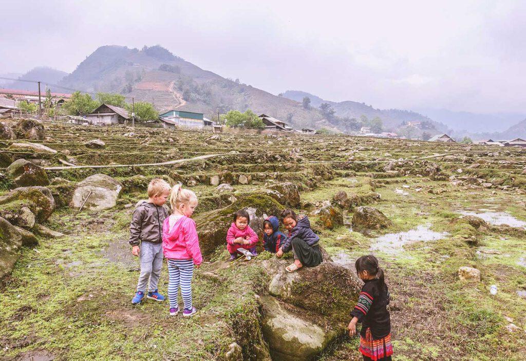 Sapa (Vietnam) met kinderen – 4x doen en zien