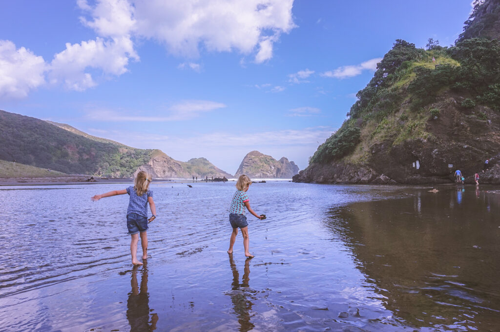 Inspirerend gezin: Autorondreis Nieuw-Zeeland met een tweeling