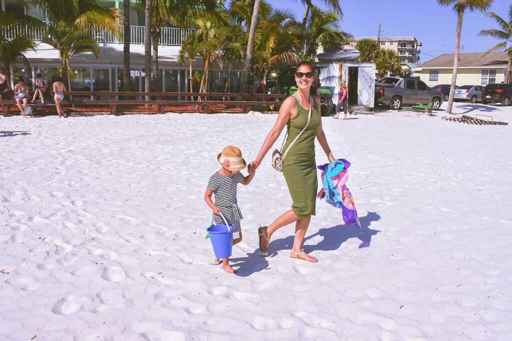 De route van Bernice en Edwin: autorondreis Florida met een kleuter