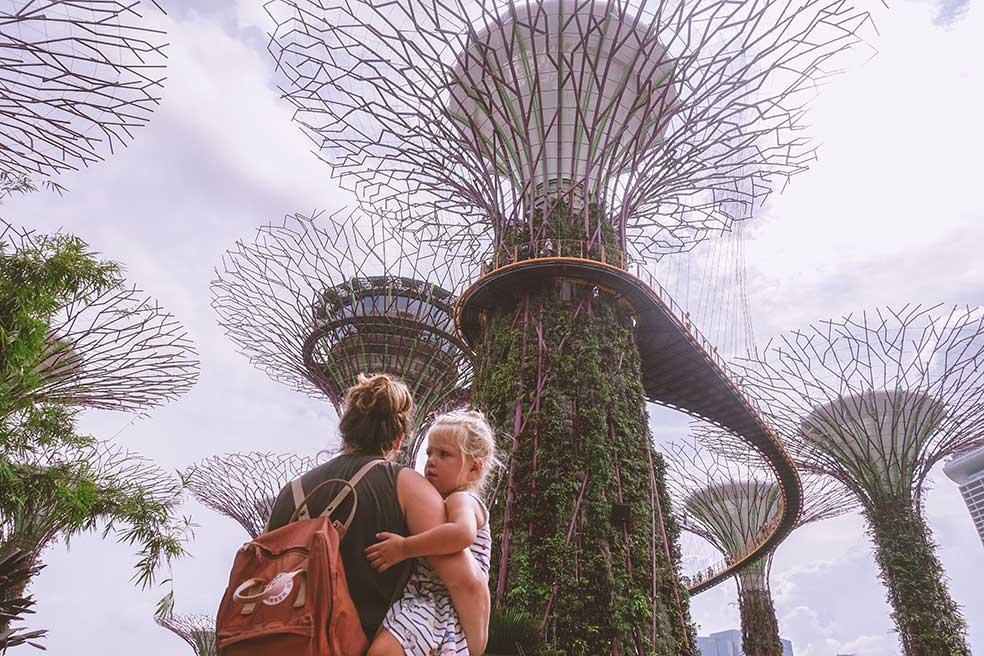 Wat kost een lange, verre reis door Azië met het gezin