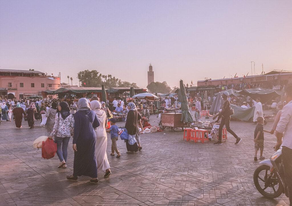 De route van Rick, Willeke en Keet: rondreis Marokko met een peuter