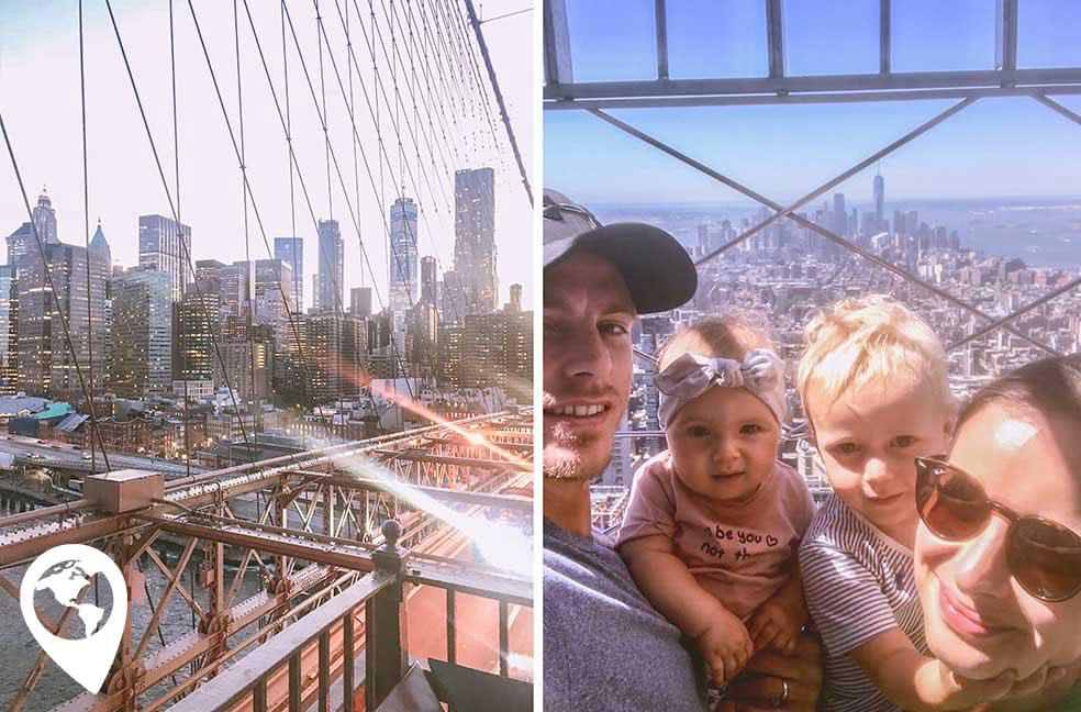 Amerika met kinderen - New York
