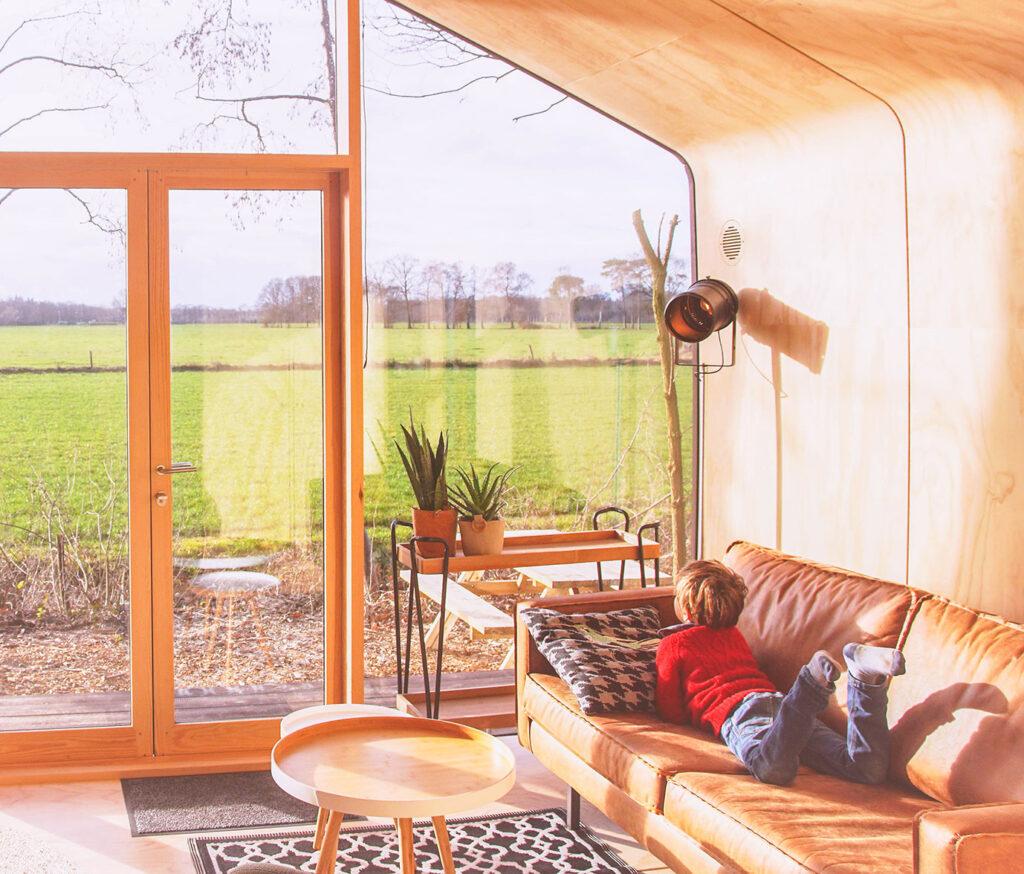 Kindvriendelijke hotspot: slapen in een wikkelhouse in Gorssel