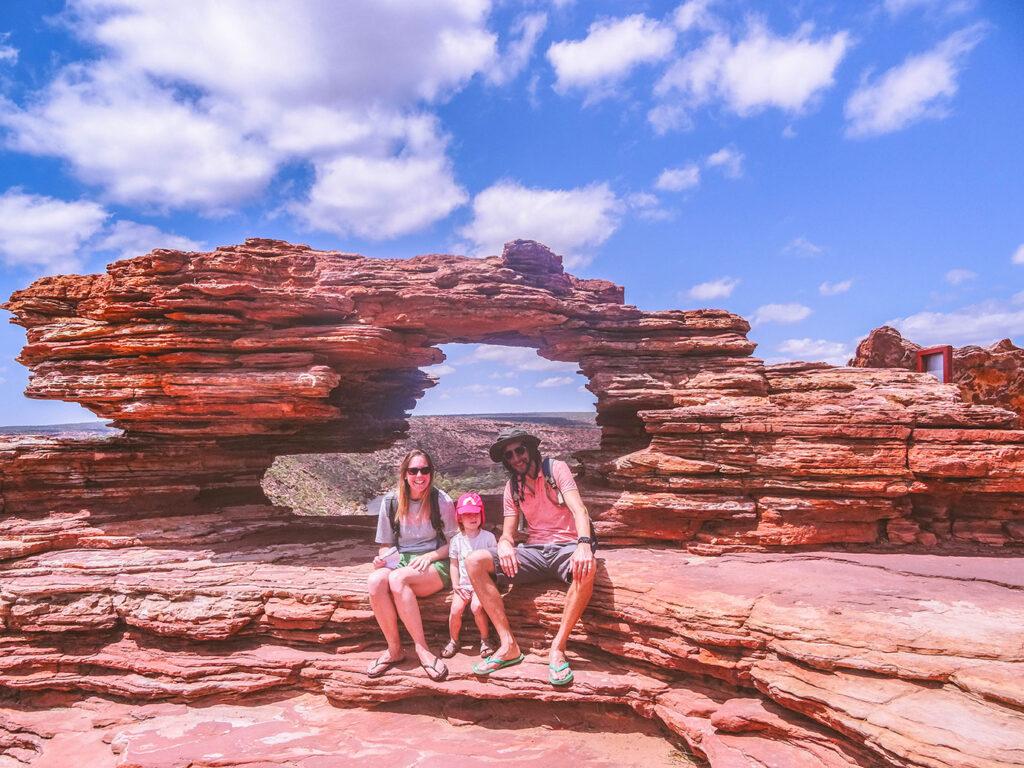 De route van Ilona: West-Australië met een peuter