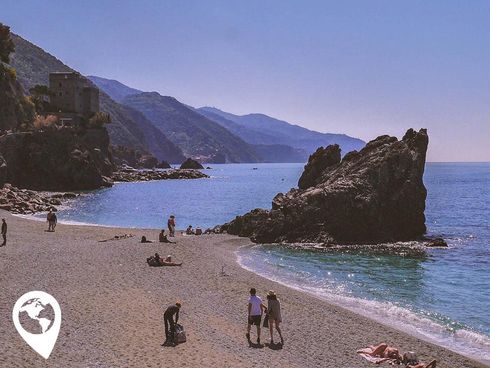 Cinque Terre met kinderen - Monterosso