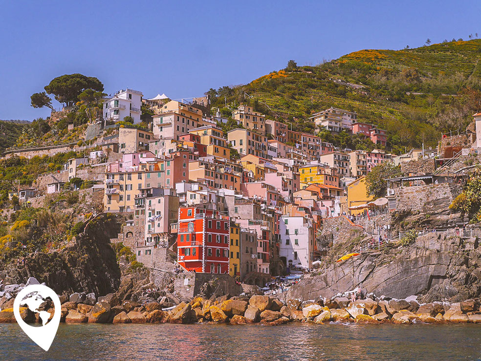 Cinque Terre met kinderen - Riomaggiore