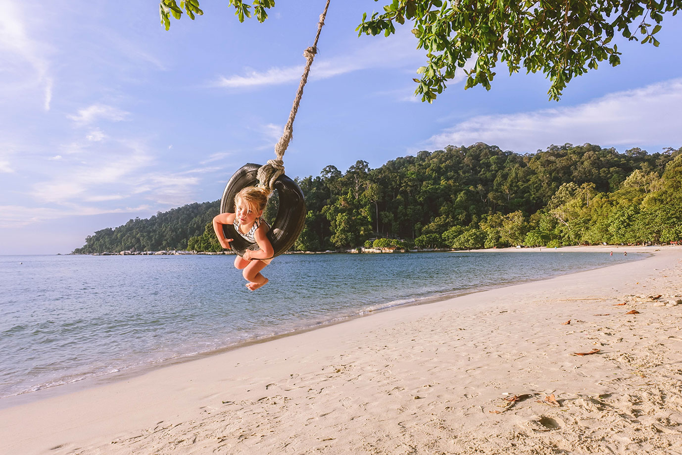Pulau Pangkor met kinderen