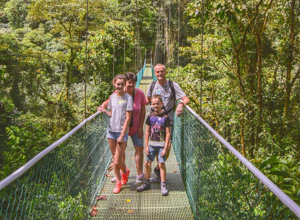 Met het gezin naar Costa Rica