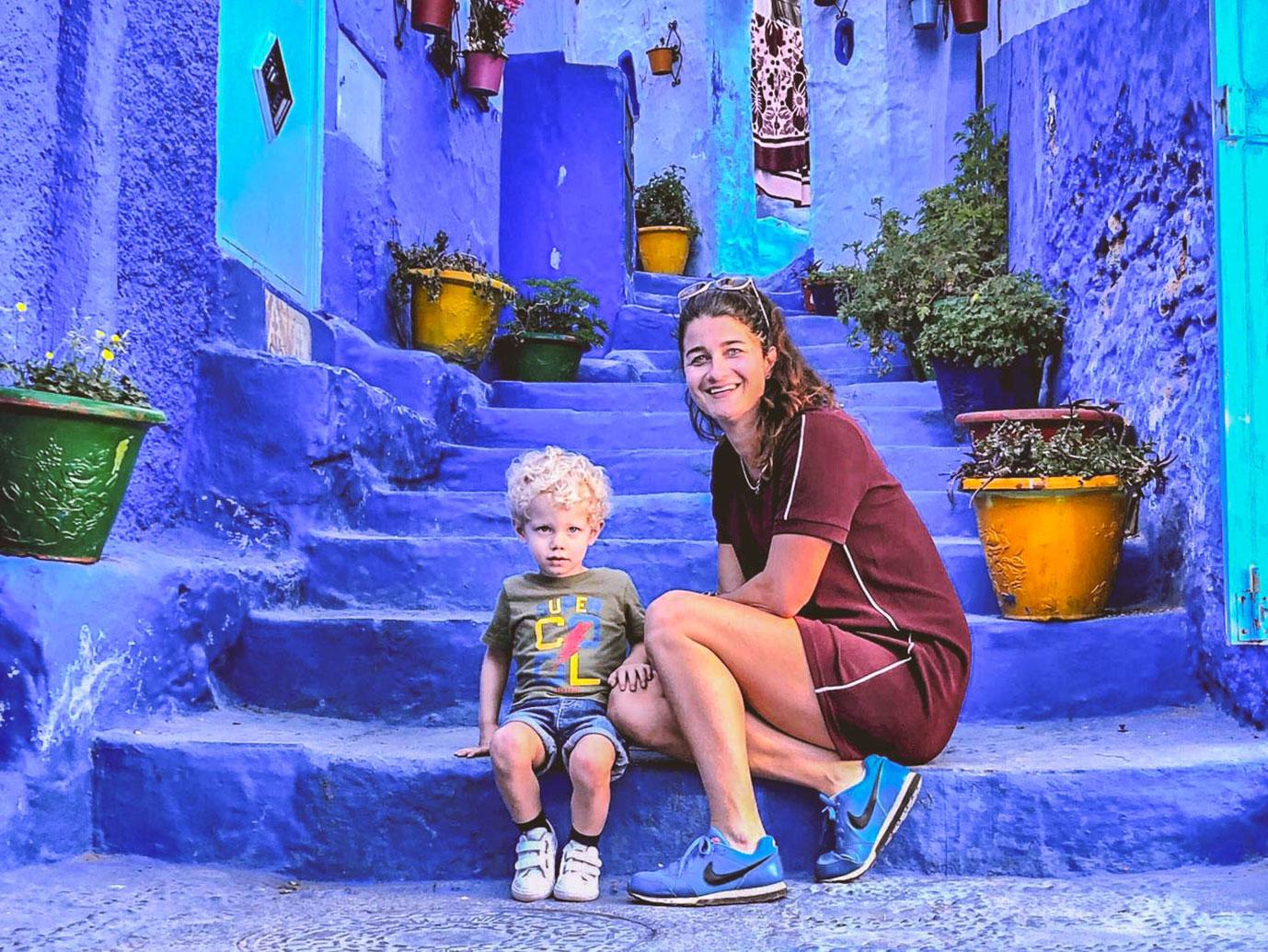 noord-marokko-met-kinderen-chefchaouen