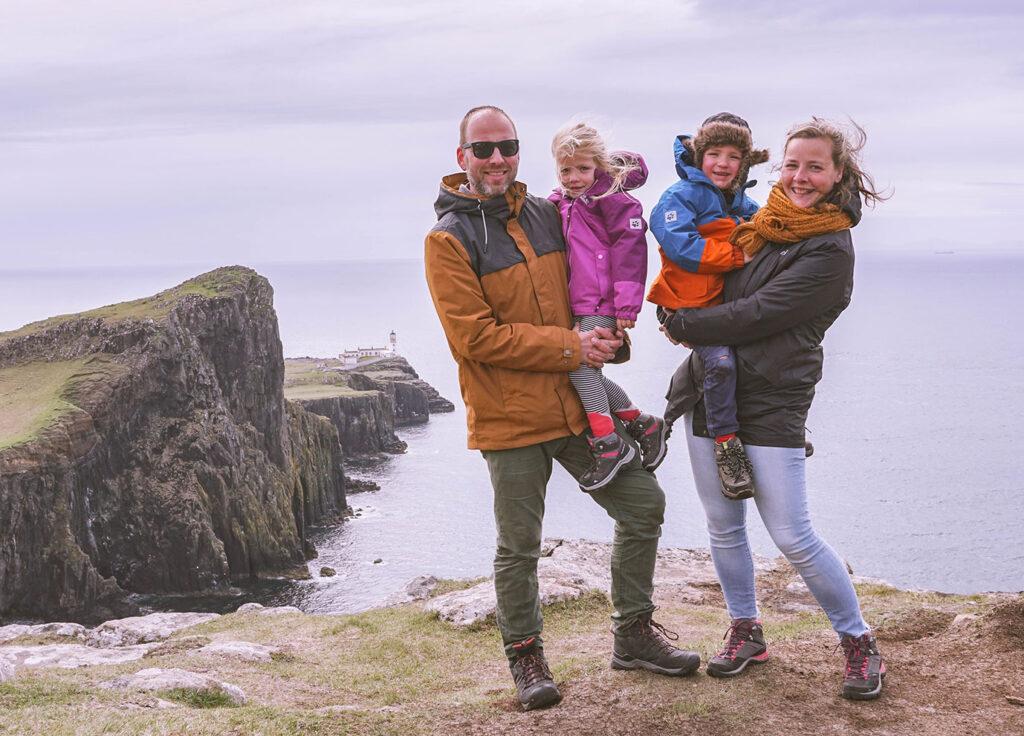 Onze route door Schotland met kinderen