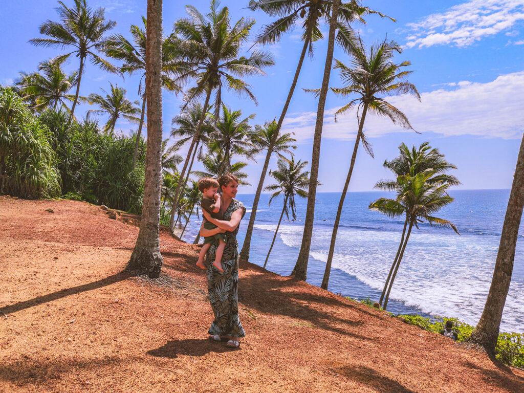 De route van Gerdine in Sri Lanka & Dubai