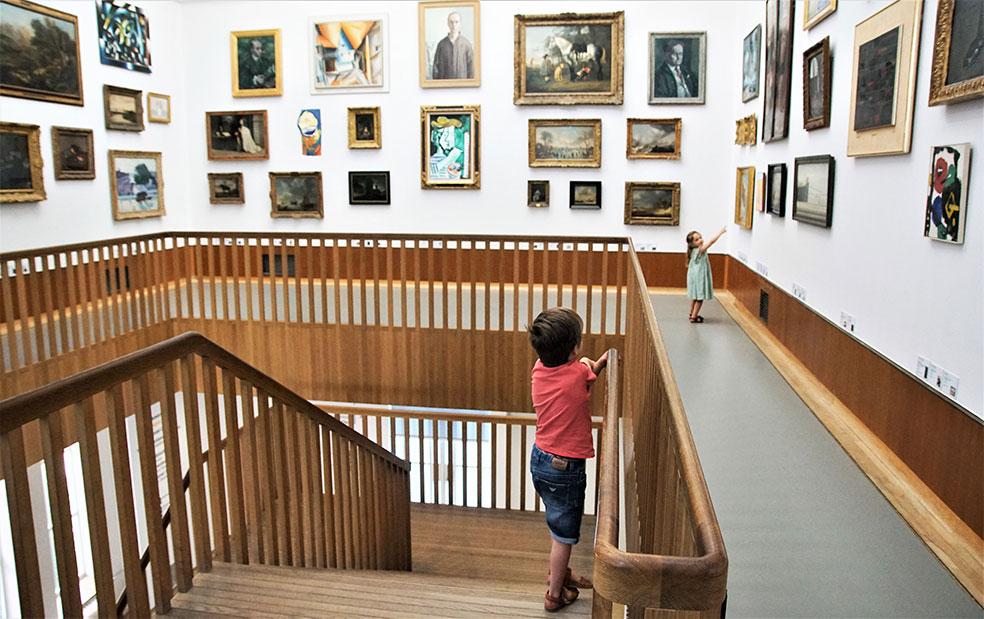Tips om met kinderen een museum te bezoeken zonder stress