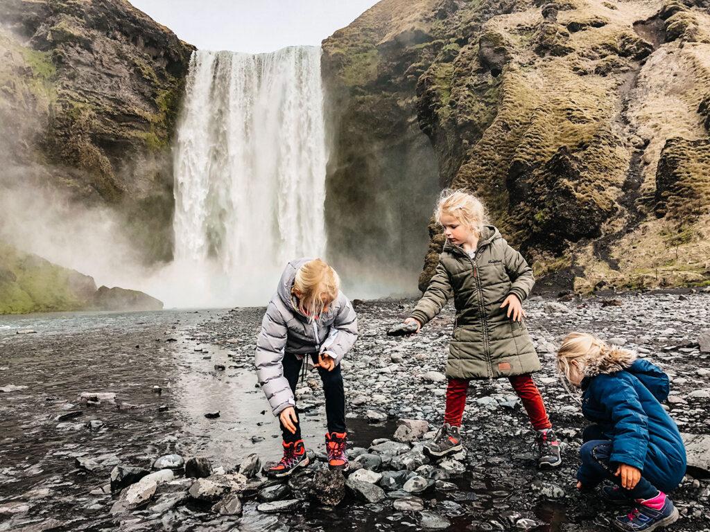 De route van Noortje: IJsland met kinderen
