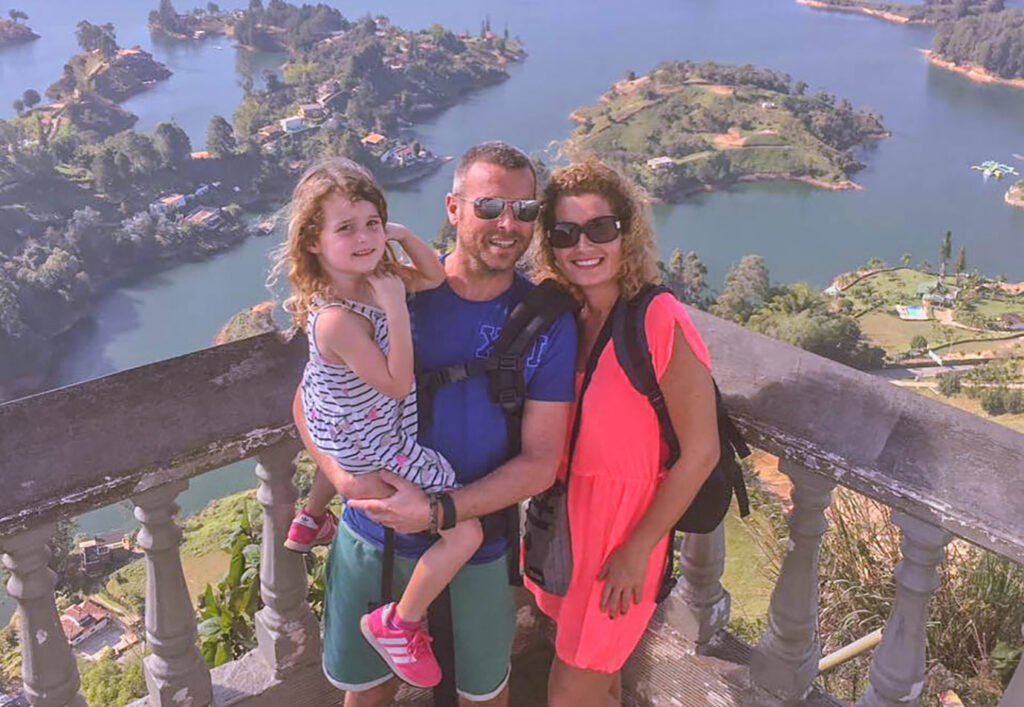 Inspirerend gezin: op wereldreis met een kleuter