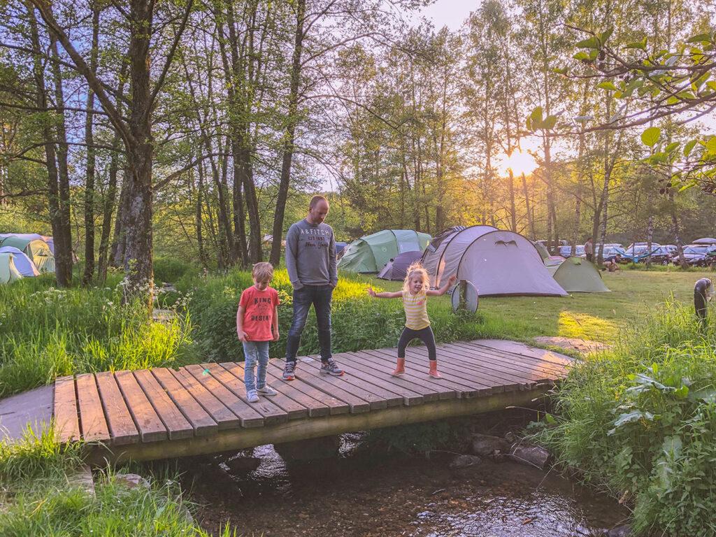 Kleine kindvriendelijk camping in de Ardennen: Camping Tonny