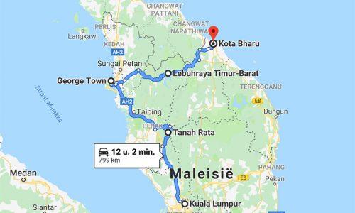 route-rondreis-auto-Maleisie-kleuter
