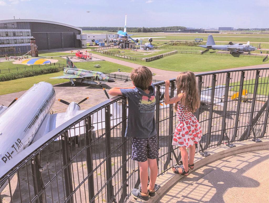 Kindvriendelijk hotspot: Aviodrome
