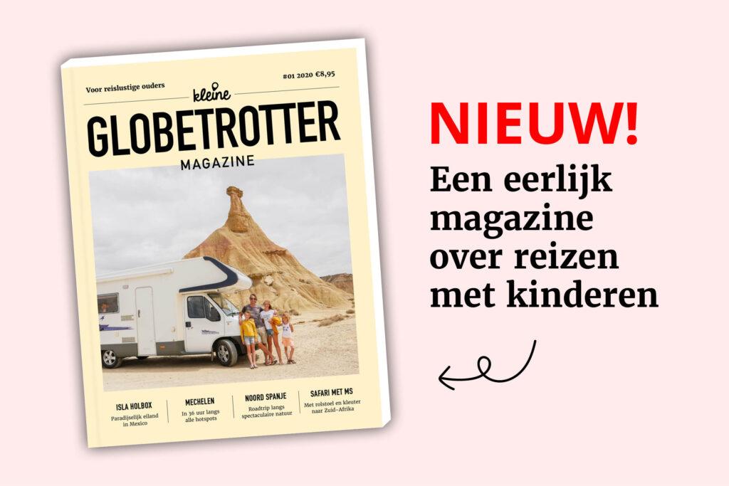 Spiksplinternieuw! Het Kleine Globetrotter Magazine